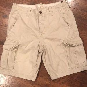 New Hollister men's khaki shorts 31